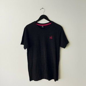 Neff Sick Embroidered Tee Shirt Cotton Black Large